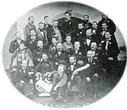 Historisches Bild des Männergesangsverein Freistadt