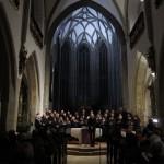 Gruppenfoto Adventsingen 2010 der Chorgemeinschaft in der Pfarrkirche Freistadt