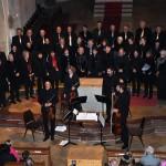 Gruppenfoto der Chorgemeinschaft Freistadt beim Herbstkonzert 2012 in der Pfarrkirche Freistadt
