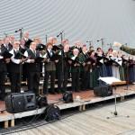 Chorgemeinschaft Freistadt bei Musik vom Fass im Brauhof Freistadt