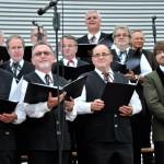 Tenor der Chorgemeinschaft Freistadt bei Musik vom Fass im Brauhof Freistadt