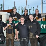 Grenzlandbrass bei Musik vom Fass im Brauhof Freistadt