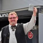 Wolfgang Handlbaer beim Musik vom Fass im Brauhof Freistadt
